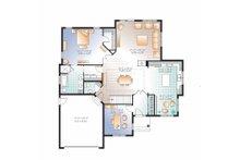 Country Floor Plan - Main Floor Plan Plan #23-2527