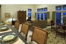 Country Interior - Family Room Plan #928-43