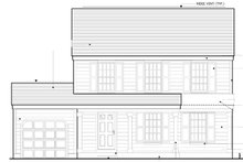 Country Exterior - Front Elevation Plan #1053-15