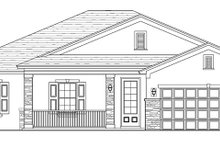 Home Plan - Traditional Exterior - Front Elevation Plan #1058-118