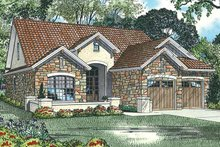 Mediterranean Exterior - Front Elevation Plan #17-2920