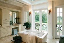 House Design - Prairie Interior - Master Bathroom Plan #132-354