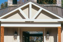 Home Plan - Classical Exterior - Rear Elevation Plan #927-655