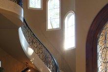 House Plan Design - Mediterranean Interior - Entry Plan #453-617
