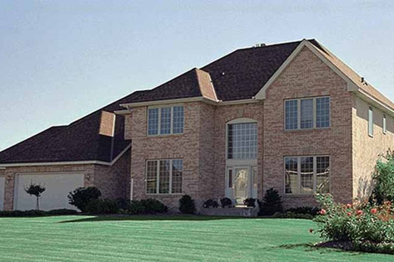 Traditional Exterior - Front Elevation Plan #51-962 - Houseplans.com