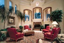 European Interior - Family Room Plan #417-563