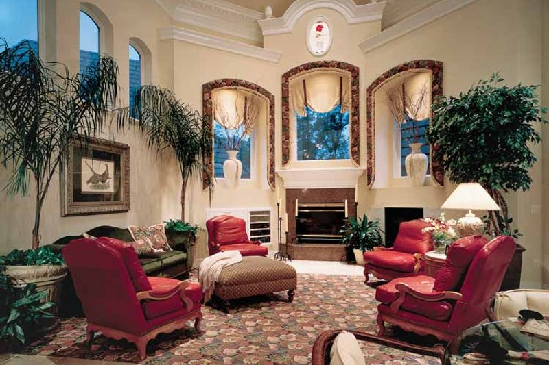 European Interior - Family Room Plan #417-563 - Houseplans.com