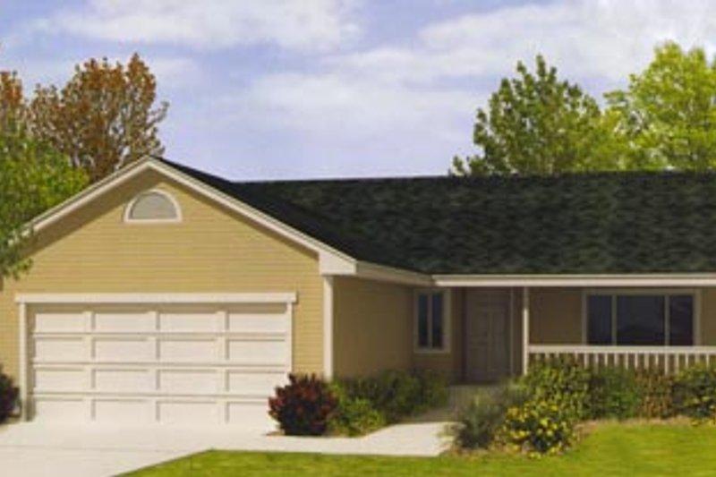 Ranch Exterior - Front Elevation Plan #92-110 - Houseplans.com