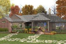 Dream House Plan - European Exterior - Rear Elevation Plan #406-9610