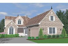 Traditional Exterior - Front Elevation Plan #509-302