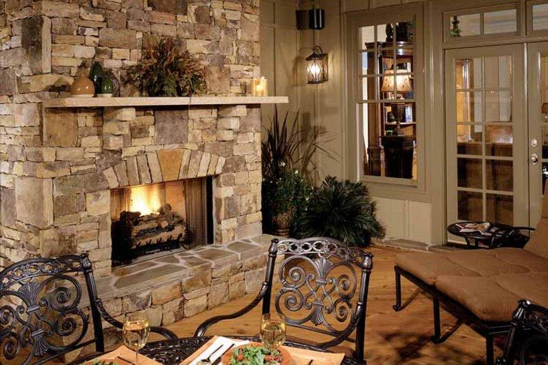 Craftsman Exterior - Rear Elevation Plan #429-272 - Houseplans.com