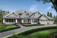 Home Plan - Craftsman Exterior - Front Elevation Plan #132-280