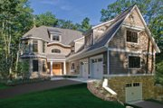 Craftsman Style House Plan - 3 Beds 4.5 Baths 4060 Sq/Ft Plan #928-71 Exterior - Front Elevation