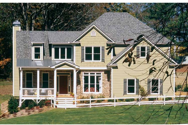 Classical Exterior - Front Elevation Plan #927-655 - Houseplans.com