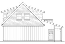 Craftsman Exterior - Rear Elevation Plan #124-935