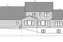 Home Plan - Traditional Exterior - Rear Elevation Plan #1010-97