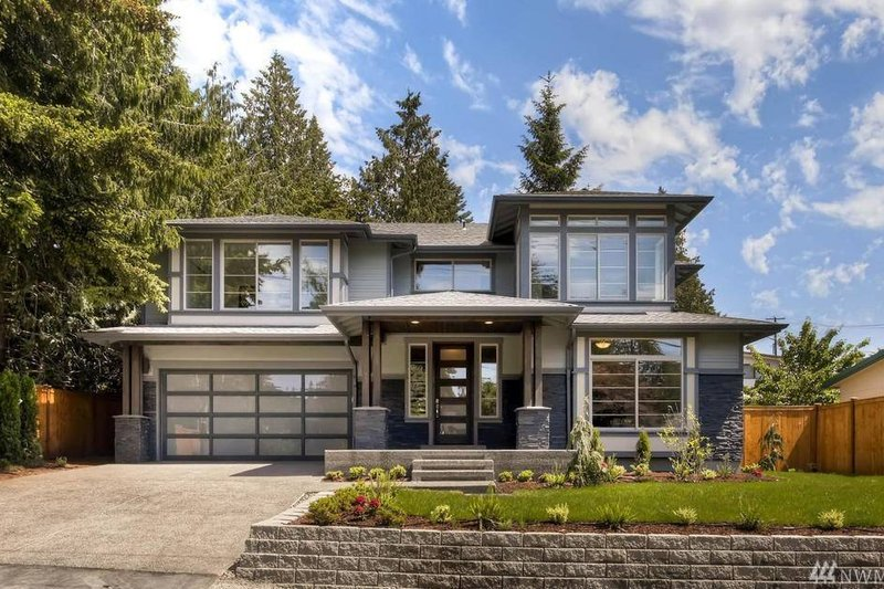 Dream House Plan - Modern Exterior - Front Elevation Plan #1066-9