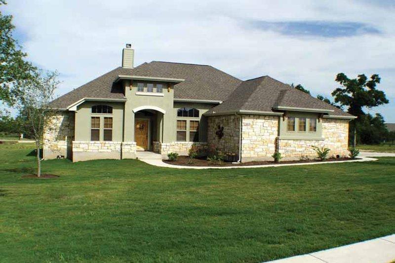 House Plan Design - Mediterranean Exterior - Front Elevation Plan #472-304