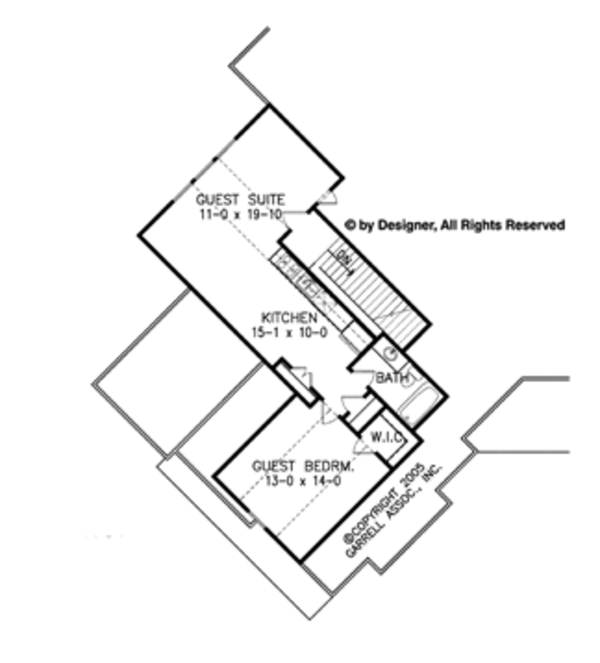 Craftsman Floor Plan - Other Floor Plan Plan #54-352