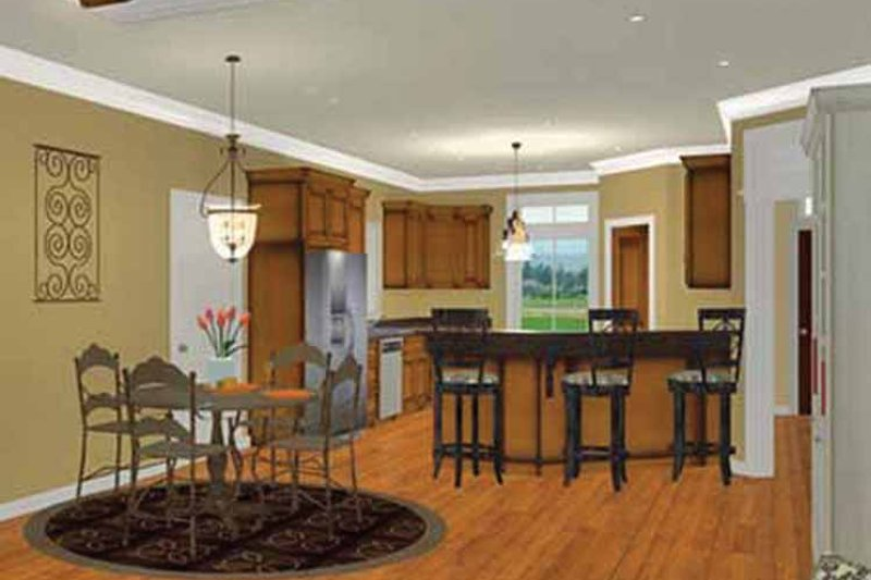 Country Interior - Kitchen Plan #44-219 - Houseplans.com
