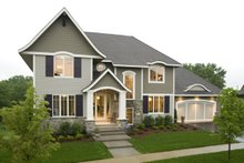 Traditional Exterior - Other Elevation Plan #56-605
