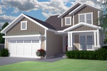 House Plan Design - Craftsman Exterior - Front Elevation Plan #991-32