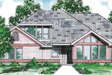 Contemporary Exterior - Front Elevation Plan #52-274