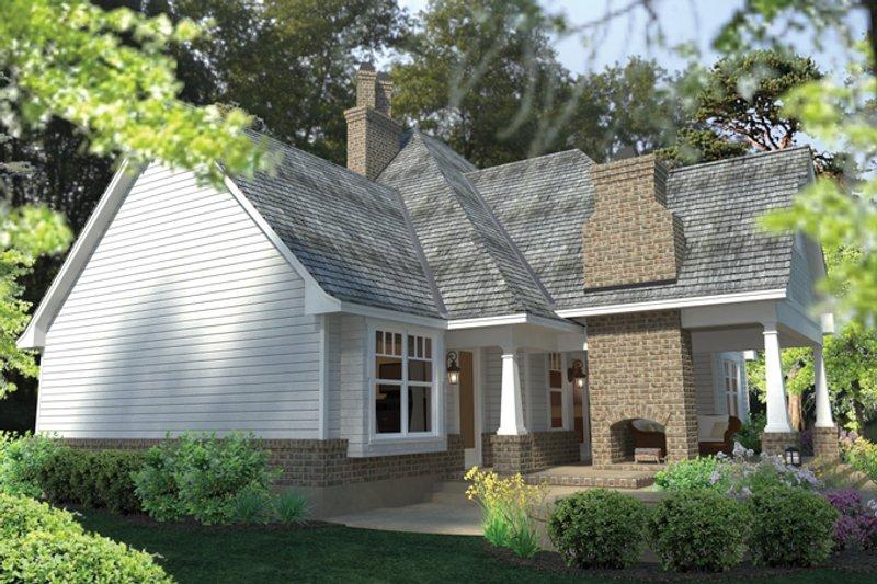 Craftsman Exterior - Rear Elevation Plan #120-248 - Houseplans.com