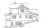 Country Style House Plan - 5 Beds 3.5 Baths 2687 Sq/Ft Plan #942-47 Exterior - Other Elevation