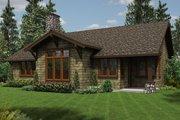 Craftsman Style House Plan - 3 Beds 2 Baths 1641 Sq/Ft Plan #48-560