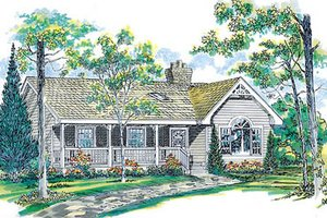 Traditional Exterior - Front Elevation Plan #47-148