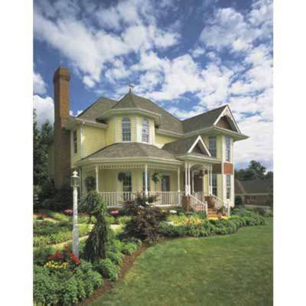 Victorian style house plan 3 beds 2 5 baths 2066 sq ft for Victorian style home plans