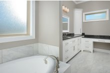 Tudor Interior - Master Bathroom Plan #45-372