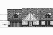 Craftsman Style House Plan - 3 Beds 2 Baths 2212 Sq/Ft Plan #487-1 Exterior - Other Elevation
