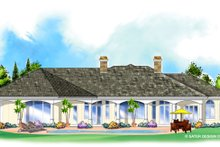 Architectural House Design - Classical Exterior - Rear Elevation Plan #930-264