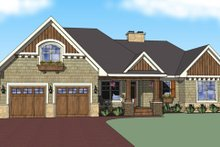 House Plan Design - Craftsman Exterior - Other Elevation Plan #51-517