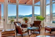 Architectural House Design - Prairie Interior - Family Room Plan #1042-17