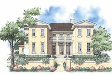 House Plan Design - European Exterior - Front Elevation Plan #930-332