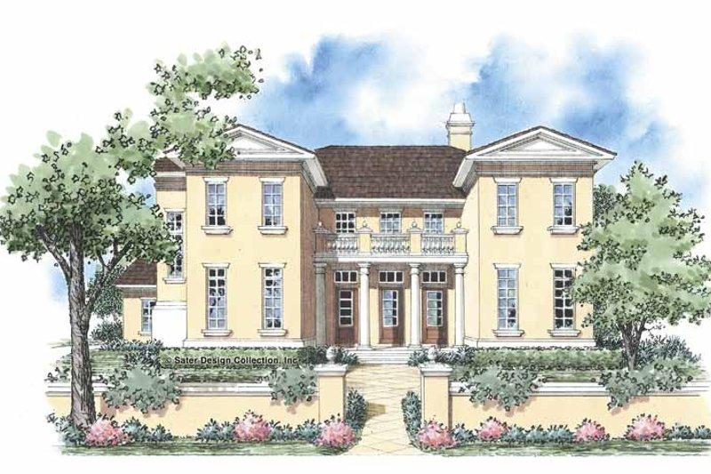 House Plan Design - European Exterior - Front Elevation Plan #930-332