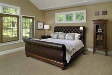 House Plan Design - European Interior - Master Bedroom Plan #928-40
