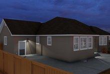 Architectural House Design - Ranch Exterior - Rear Elevation Plan #1060-11