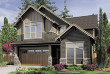 Craftsman Exterior - Front Elevation Plan #48-848