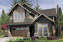 House Design - Craftsman Exterior - Front Elevation Plan #48-848