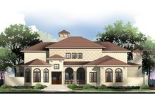 Mediterranean Exterior - Front Elevation Plan #119-340