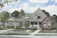 Architectural House Design - Craftsman Exterior - Front Elevation Plan #17-2863