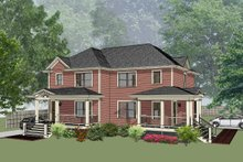 Traditional Exterior - Front Elevation Plan #79-239