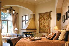 Home Plan - Mediterranean Interior - Master Bedroom Plan #930-325