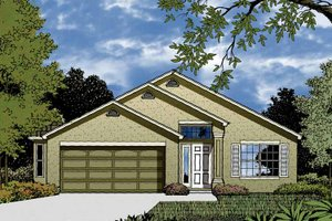 House Plan Design - Contemporary Exterior - Front Elevation Plan #1015-29