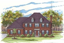 House Design - Traditional Exterior - Front Elevation Plan #435-8