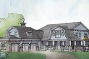 Colonial Style House Plan - 5 Beds 4.5 Baths 4852 Sq/Ft Plan #928-298